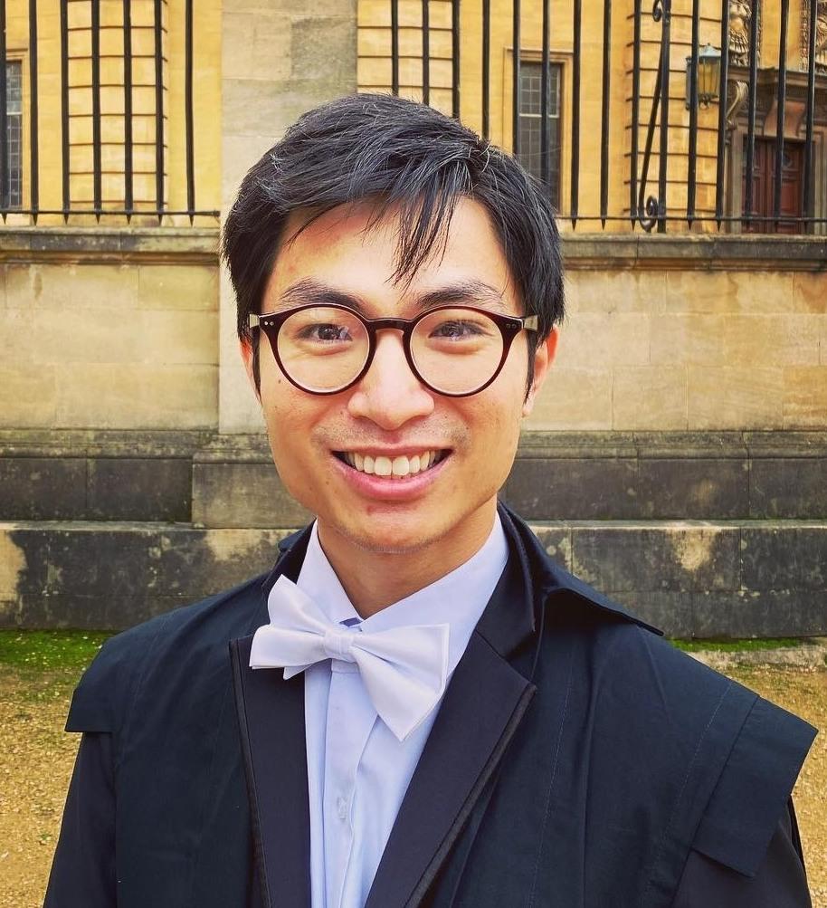 Headshot of Quang Nguyen, Dphil student